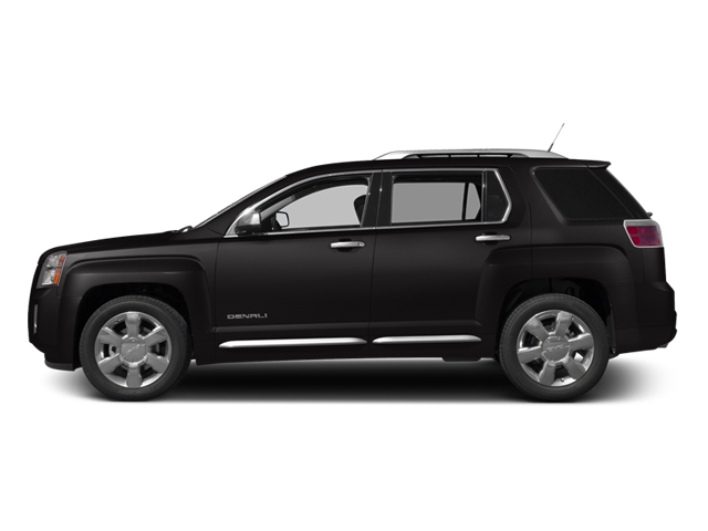 2014 GMC Terrain Prices and Values Utility 4D Denali 2WD side view