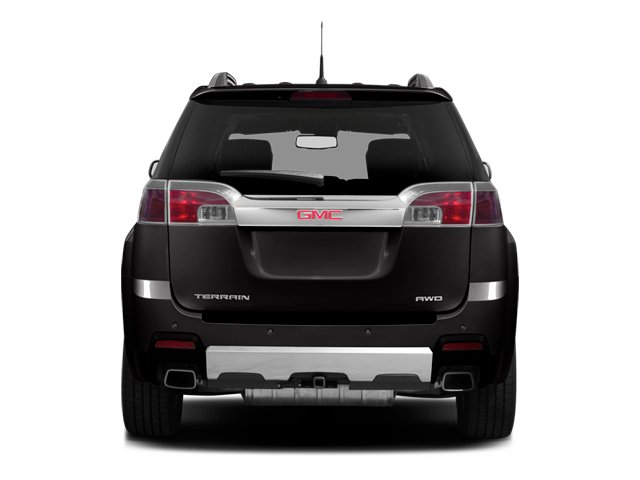 2014 GMC Terrain Prices and Values Utility 4D Denali 2WD rear view
