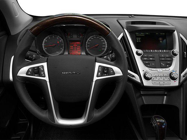 2014 GMC Terrain Prices and Values Utility 4D Denali 2WD driver's dashboard