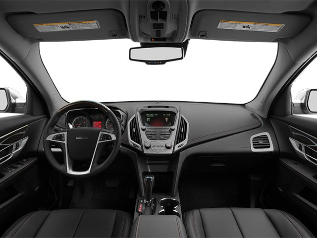2014 GMC Terrain Prices and Values Utility 4D Denali 2WD full dashboard