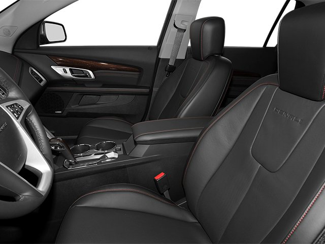 2014 GMC Terrain Prices and Values Utility 4D Denali 2WD front seat interior