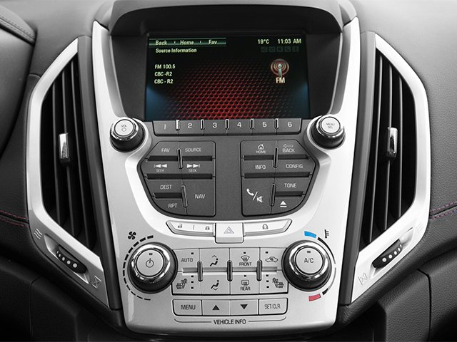 2014 GMC Terrain Prices and Values Utility 4D Denali 2WD stereo system