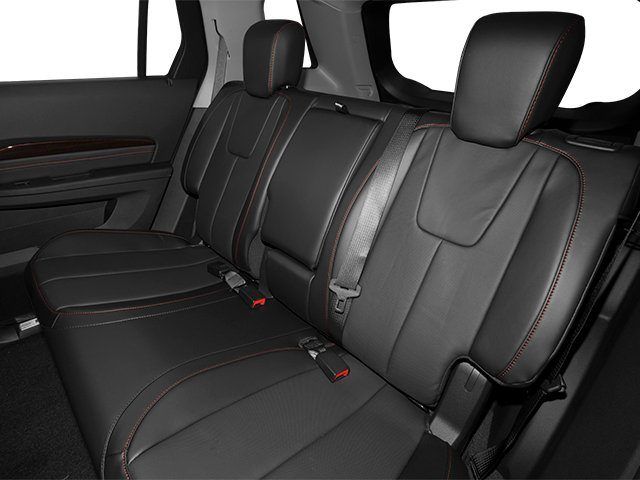 2014 GMC Terrain Prices and Values Utility 4D Denali 2WD backseat interior