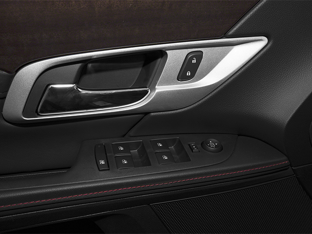 2014 GMC Terrain Prices and Values Utility 4D Denali 2WD driver's side interior controls