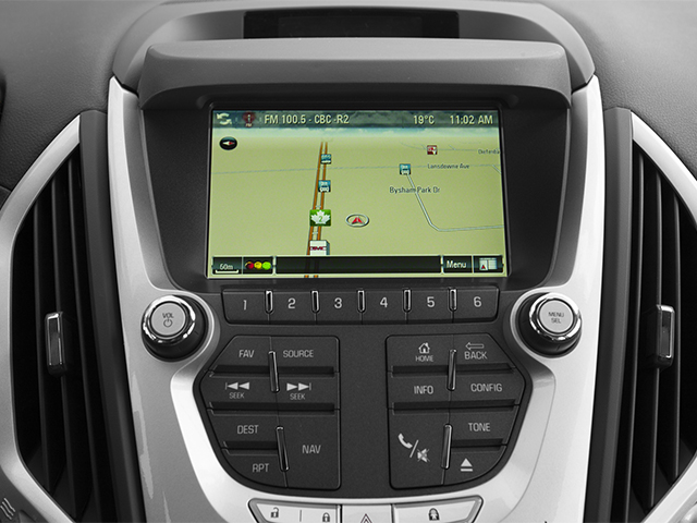 2014 GMC Terrain Prices and Values Utility 4D Denali 2WD navigation system