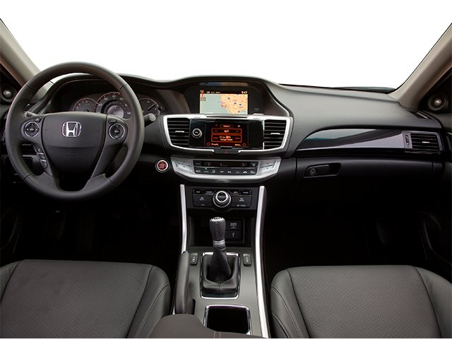 2014 Honda Accord Coupe Prices And Values Coupe 2D EX L V6 Full Dashboard