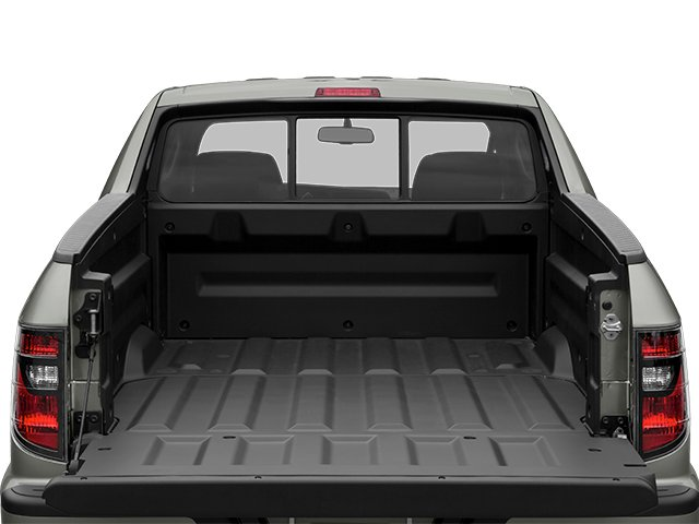 2014 Honda Ridgeline Prices and Values Utility 4D SE 4WD open trunk