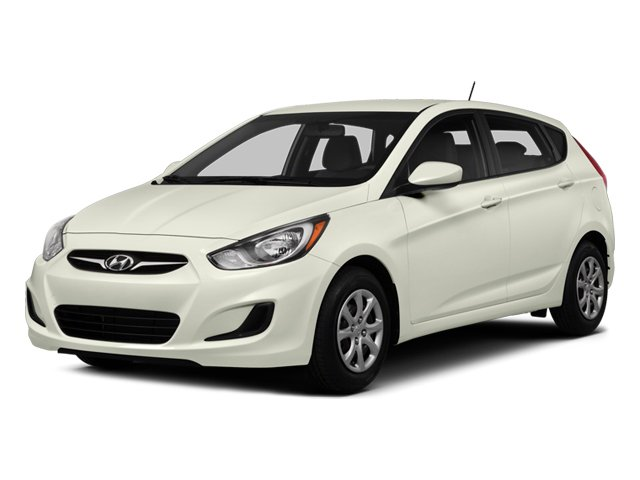 2014 Hyundai Accent Pictures Accent Hatchback 5D GS I4 photos side front view