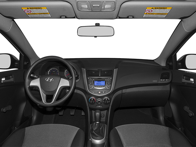 2014 Hyundai Accent Pictures Accent Hatchback 5D GS I4 photos full dashboard