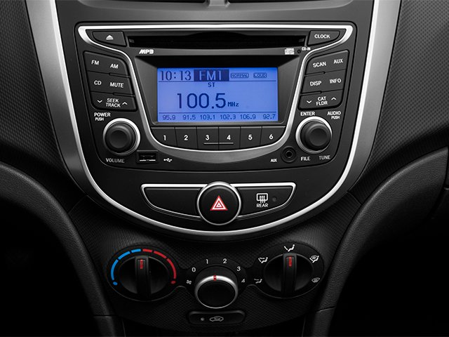 2014 Hyundai Accent Pictures Accent Hatchback 5D GS I4 photos stereo system