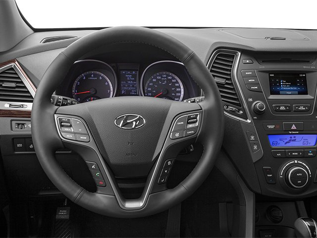 2014 Hyundai Santa Fe Pictures Santa Fe Utility 4D GLS Technology AWD photos driver's dashboard