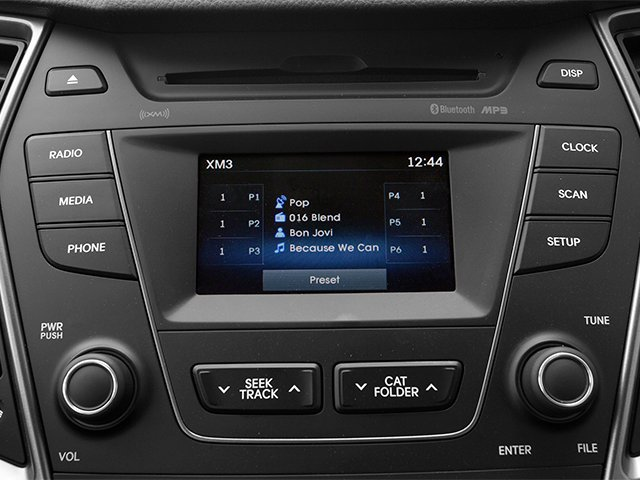 2014 Hyundai Santa Fe Pictures Santa Fe Utility 4D GLS Ultimate AWD photos stereo system