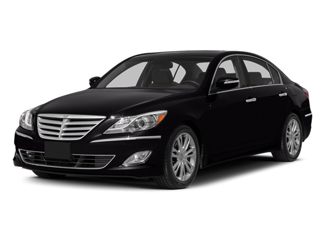 2014 Hyundai Genesis Prices and Values Sedan 4D V6 side front view