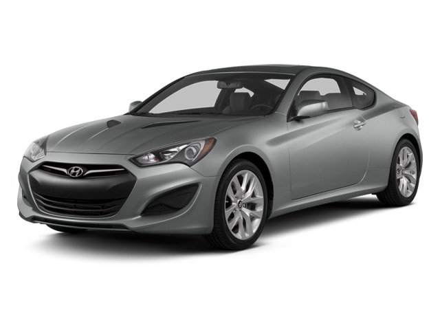 2014 Hyundai Genesis Coupe Prices and Values Coupe 2D Premium I4 Turbo side front view