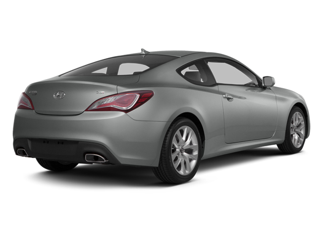 2014 Hyundai Genesis Coupe Prices and Values Coupe 2D Premium I4 Turbo side rear view