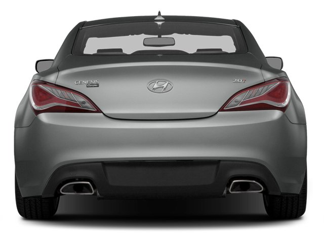 2014 Hyundai Genesis Coupe Prices and Values Coupe 2D Premium I4 Turbo rear view