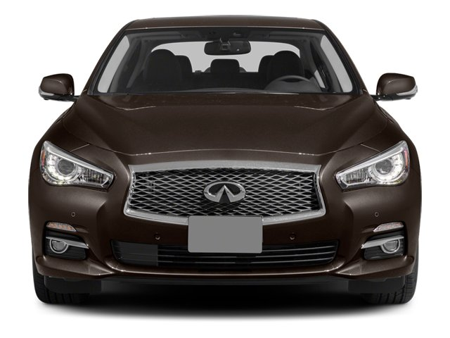 2014 INFINITI Q50 Prices and Values Sedan 4D Premium V6 front view