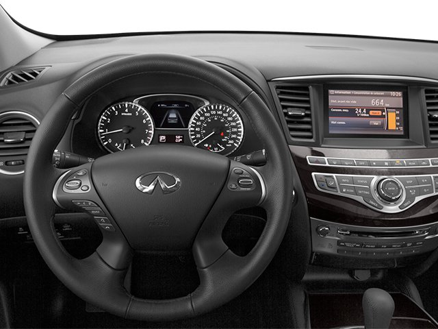 2014 INFINITI QX60 Pictures QX60 Utility 4D AWD V6 photos driver's dashboard