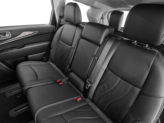 2014 INFINITI QX60 Prices and Values Utility 4D AWD V6 backseat interior