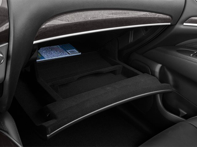2014 INFINITI QX60 Prices and Values Utility 4D AWD V6 glove box
