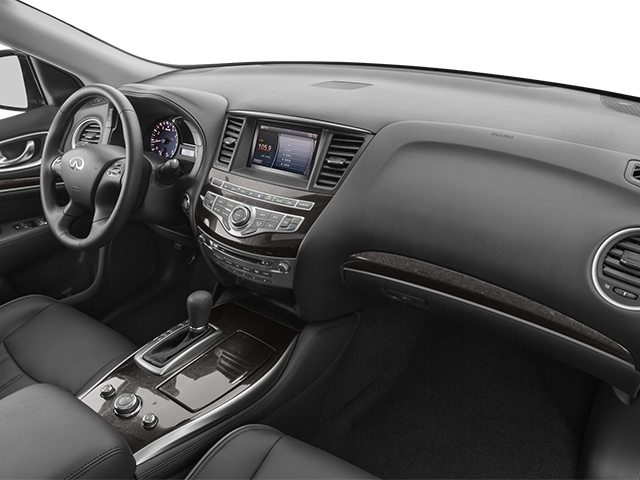 2014 INFINITI QX60 Prices and Values Utility 4D AWD V6 passenger's dashboard
