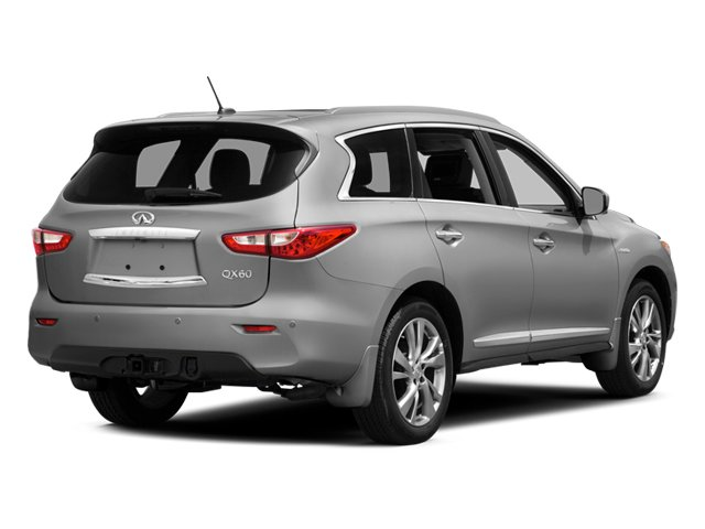 2014 INFINITI QX60 Prices and Values Utility 4D Hybrid AWD I4 side rear view