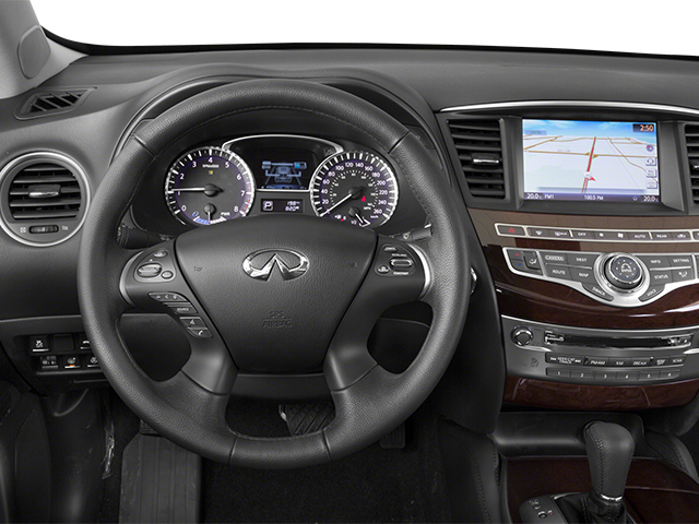 2014 INFINITI QX60 Prices and Values Utility 4D Hybrid AWD I4 driver's dashboard