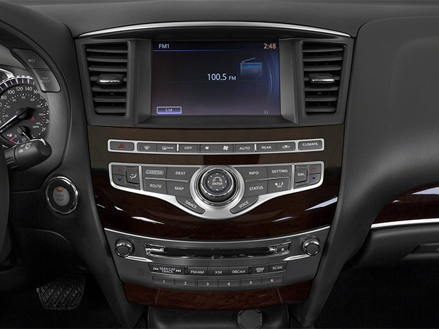2014 INFINITI QX60 Prices and Values Utility 4D Hybrid AWD I4 stereo system