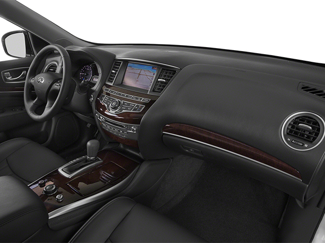 2014 INFINITI QX60 Prices and Values Utility 4D Hybrid AWD I4 passenger's dashboard