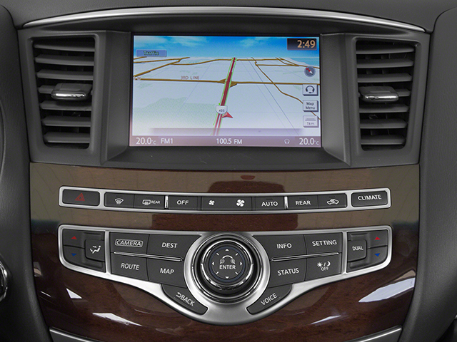 2014 INFINITI QX60 Prices and Values Utility 4D Hybrid AWD I4 navigation system