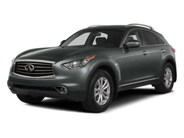 2014 INFINITI QX70 Prices and Values Utility 4D AWD V8 side front view