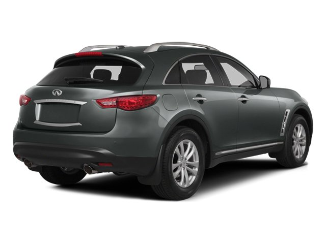 2014 INFINITI QX70 Prices and Values Utility 4D AWD V6 side rear view