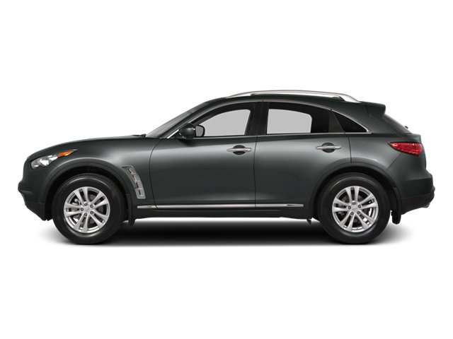 2014 INFINITI QX70 Pictures QX70 Utility 4D 2WD V6 photos side view