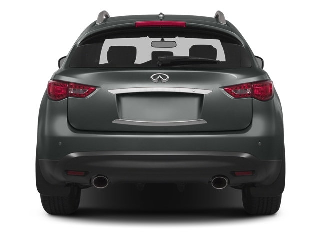 2014 INFINITI QX70 Prices and Values Utility 4D AWD V6 rear view