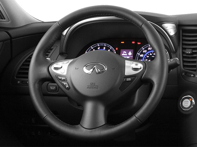 2014 INFINITI QX70 Prices and Values Utility 4D AWD V8 driver's dashboard