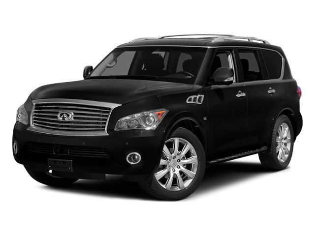 2014 INFINITI QX80 Prices and Values Utility 4D AWD V8 side front view