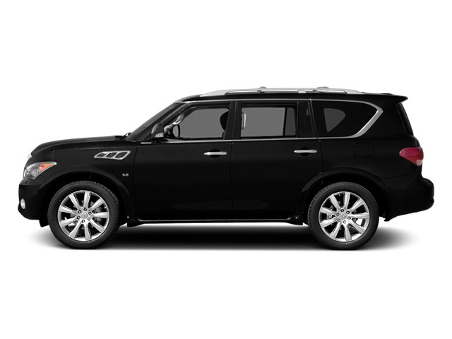 2014 INFINITI QX80 Prices and Values Utility 4D AWD V8 side view