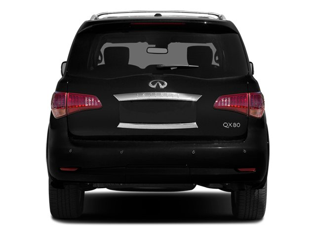 2014 INFINITI QX80 Prices and Values Utility 4D AWD V8 rear view