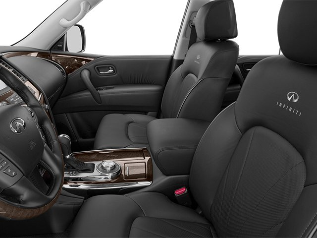 2014 INFINITI QX80 Prices and Values Utility 4D 2WD V8 front seat interior