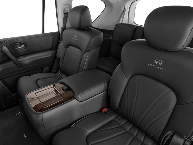 2014 INFINITI QX80 Prices and Values Utility 4D AWD V8 backseat interior