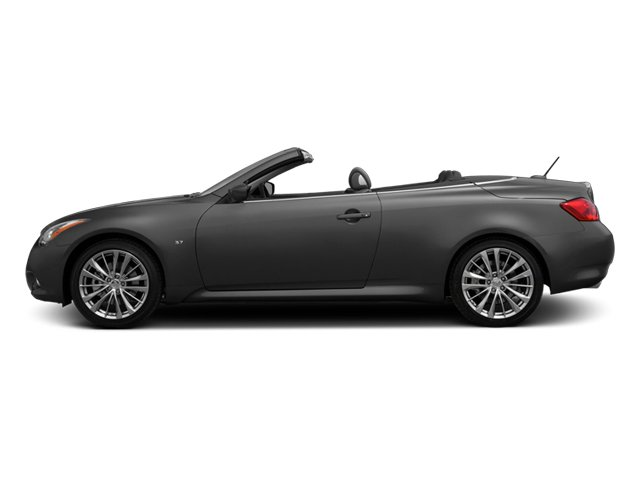 2014 INFINITI Q60 Convertible Prices and Values Convertible 2D Sport V6 side view
