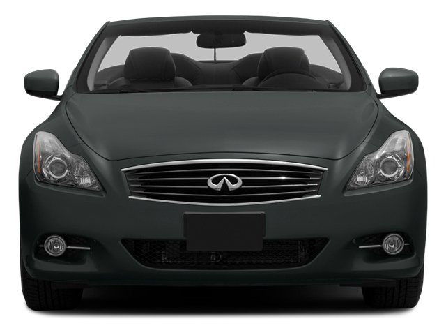2014 INFINITI Q60 Convertible Prices and Values Convertible 2D V6 front view