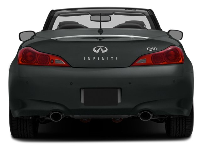 2014 INFINITI Q60 Convertible Prices and Values Convertible 2D V6 rear view