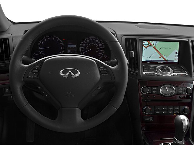 2014 INFINITI Q60 Convertible Prices and Values Convertible 2D Sport V6 driver's dashboard
