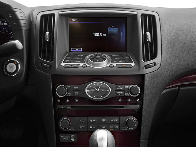 2014 INFINITI Q60 Convertible Prices and Values Convertible 2D V6 stereo system