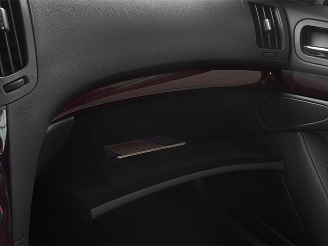 2014 INFINITI Q60 Convertible Prices and Values Convertible 2D Sport V6 glove box