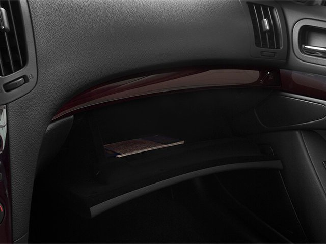 2014 INFINITI Q60 Convertible Prices and Values Convertible 2D V6 glove box