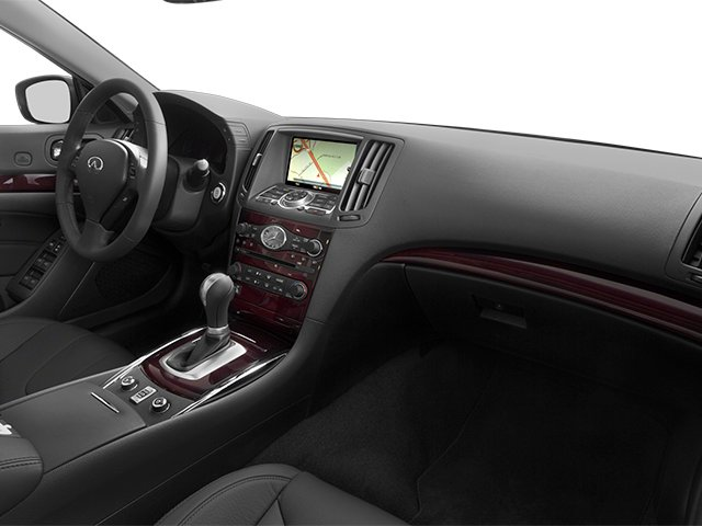2014 INFINITI Q60 Convertible Prices and Values Convertible 2D Sport V6 passenger's dashboard