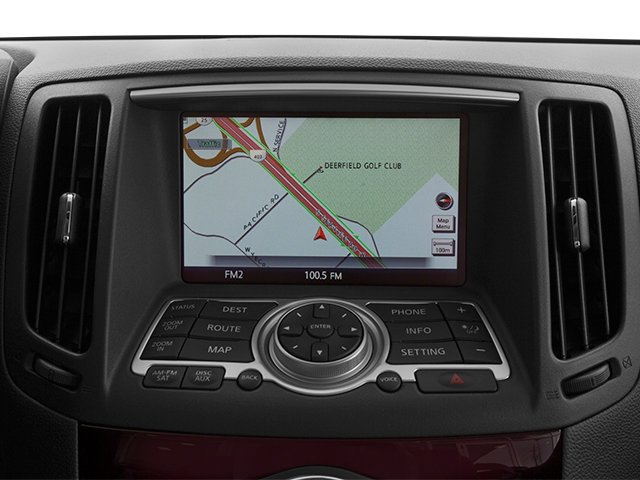 2014 INFINITI Q60 Convertible Prices and Values Convertible 2D Sport V6 navigation system