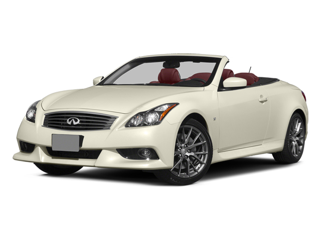 2014 INFINITI Q60 Convertible Pictures Q60 Convertible Convertible 2D IPL V6 photos side front view
